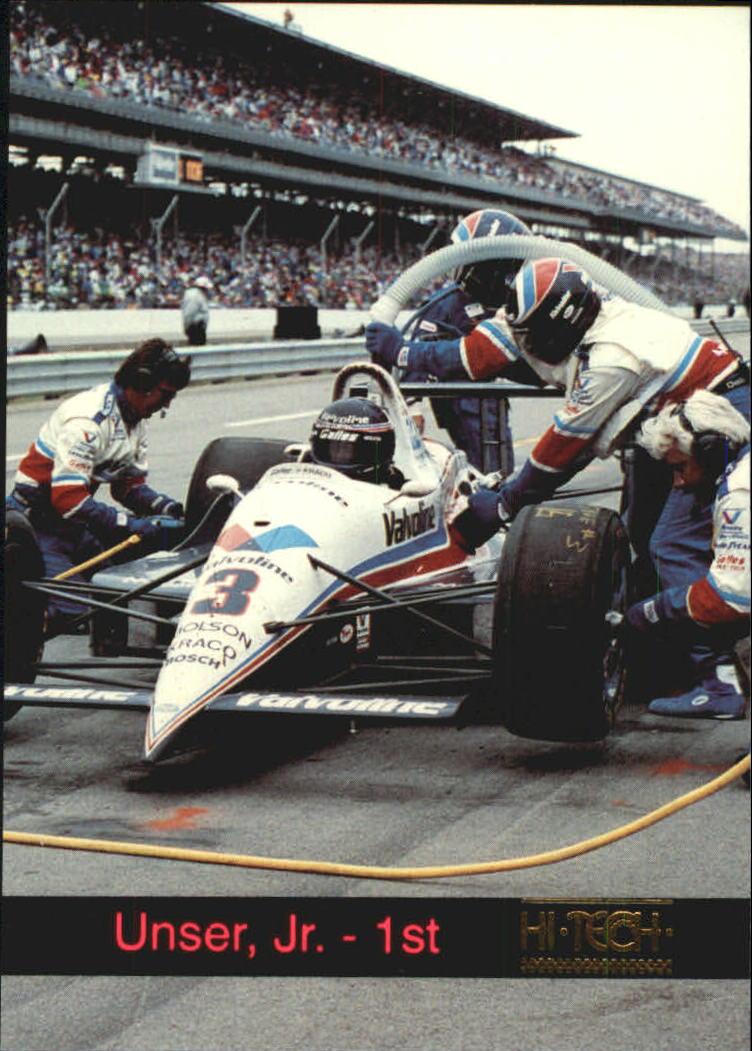 1993 Hi-Tech Indy #12 Al Unser Jr.