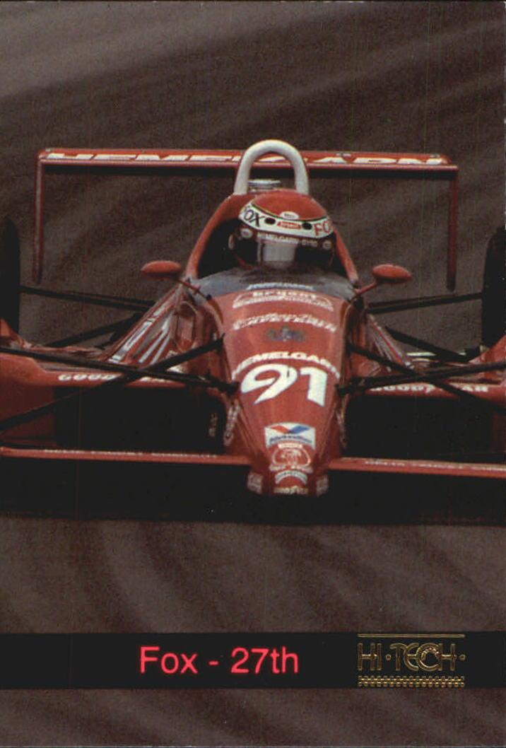 1993 Hi-Tech Indy #13 Stan Fox