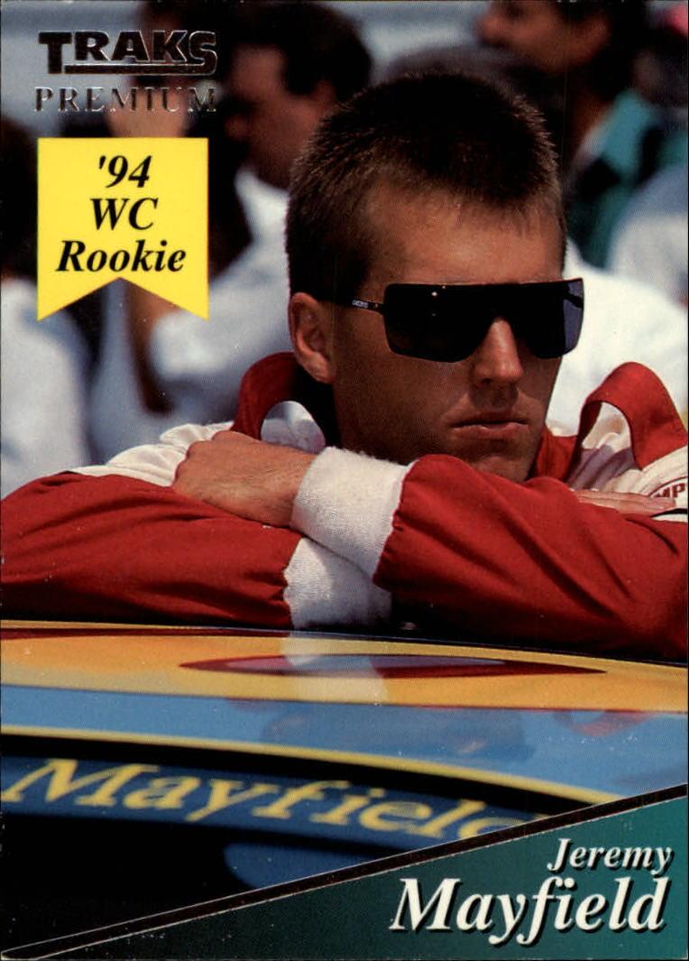 1994 Traks #107 Jeremy Mayfield RC