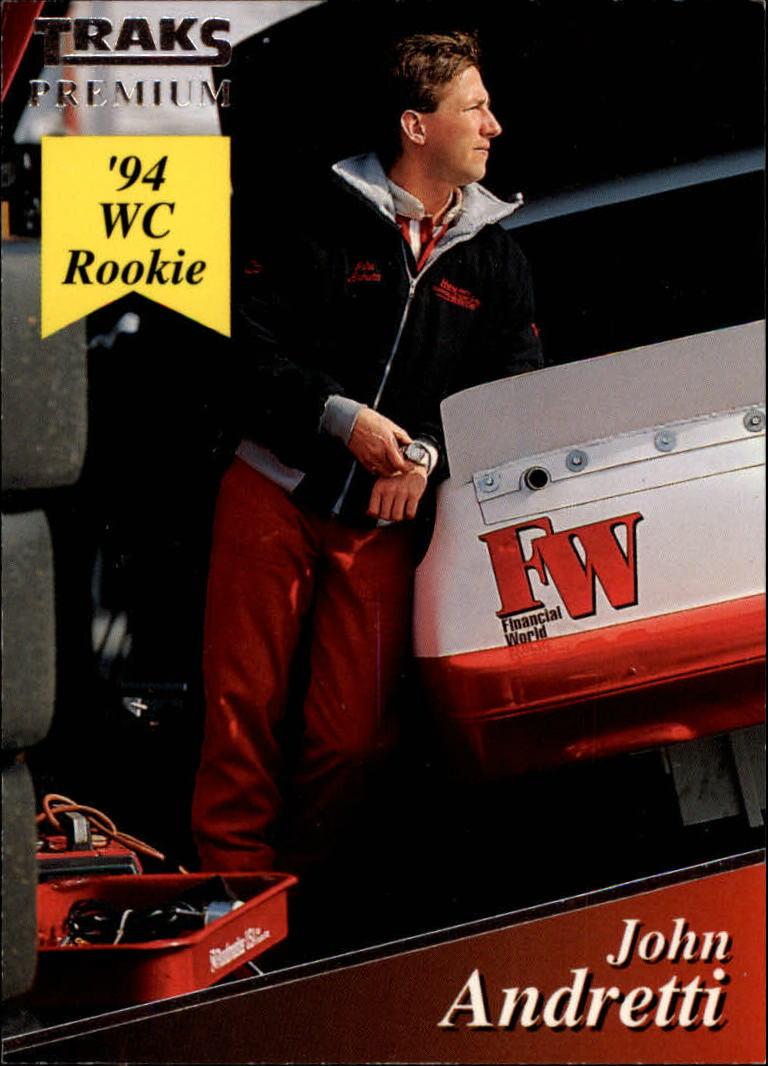 1994 Traks #110 John Andretti RC
