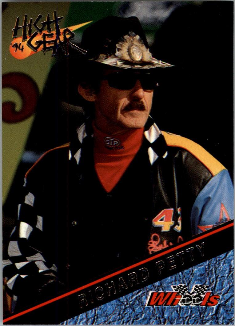 1994 Wheels High Gear #28 Richard Petty