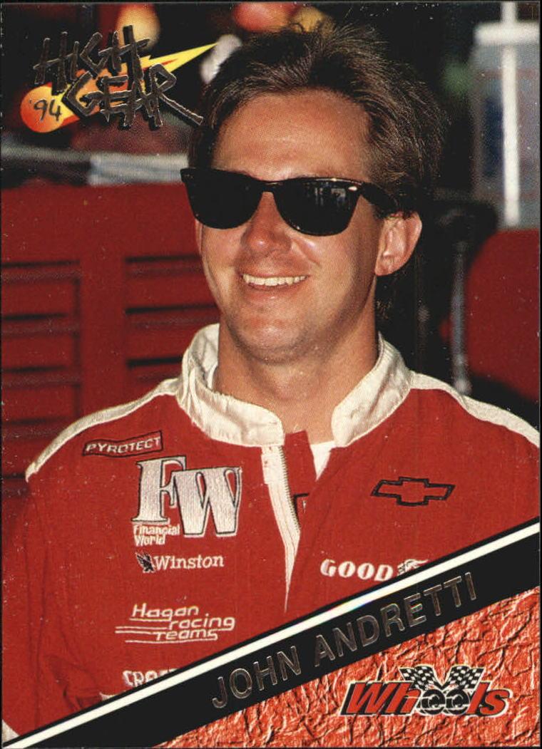 1994 Wheels High Gear #114 John Andretti RC