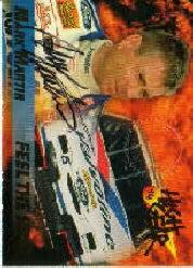 1994 Wheels High Gear #MMS1 Mark Martin AU/1000/Feel The Heat