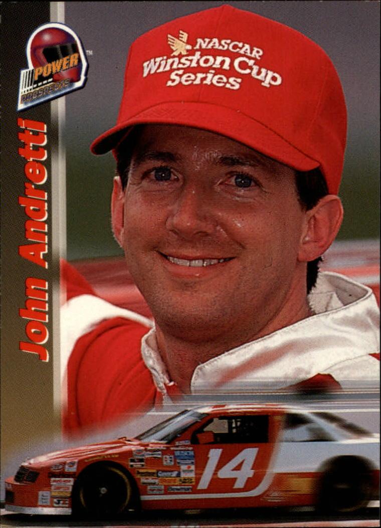 1994 Power #PP27 John Andretti PP RC