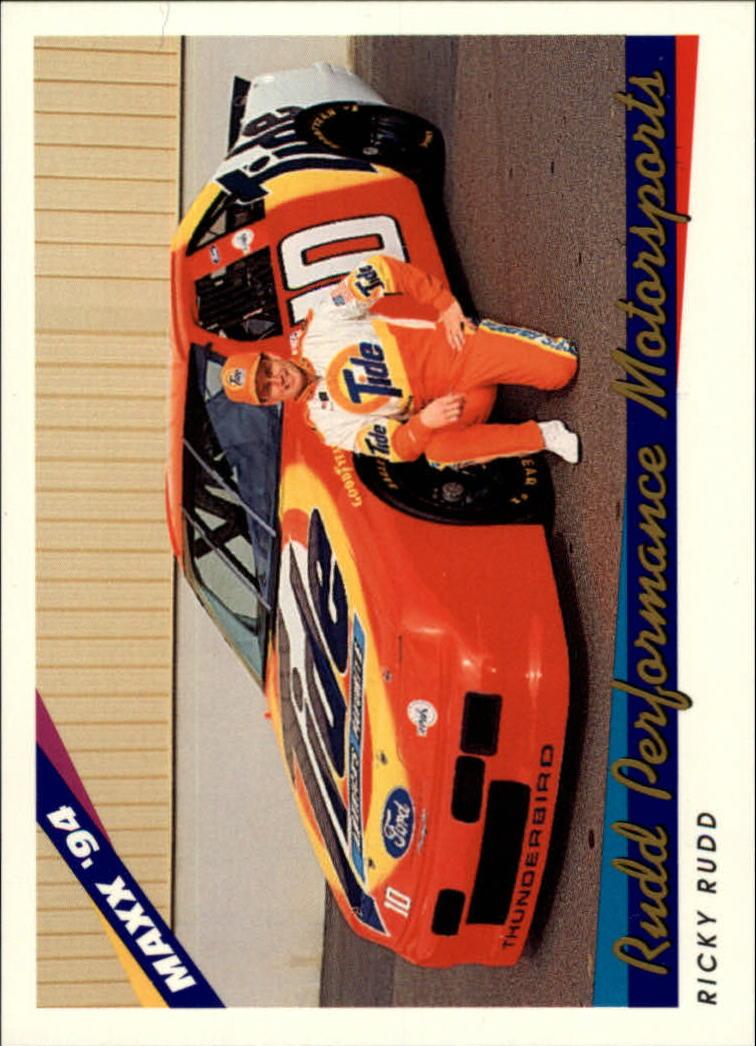 1994 Maxx #59 Ricky Rudd w/Car