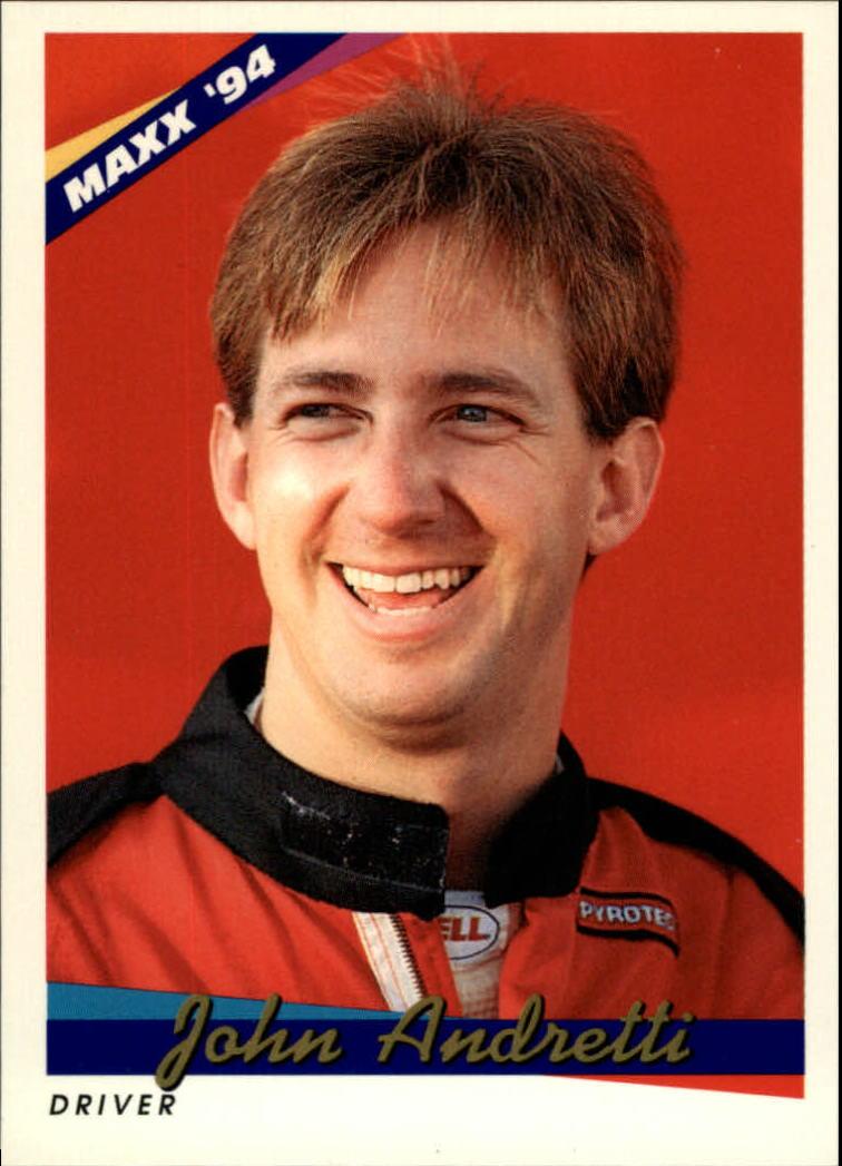 1994 Maxx #72 John Andretti RC