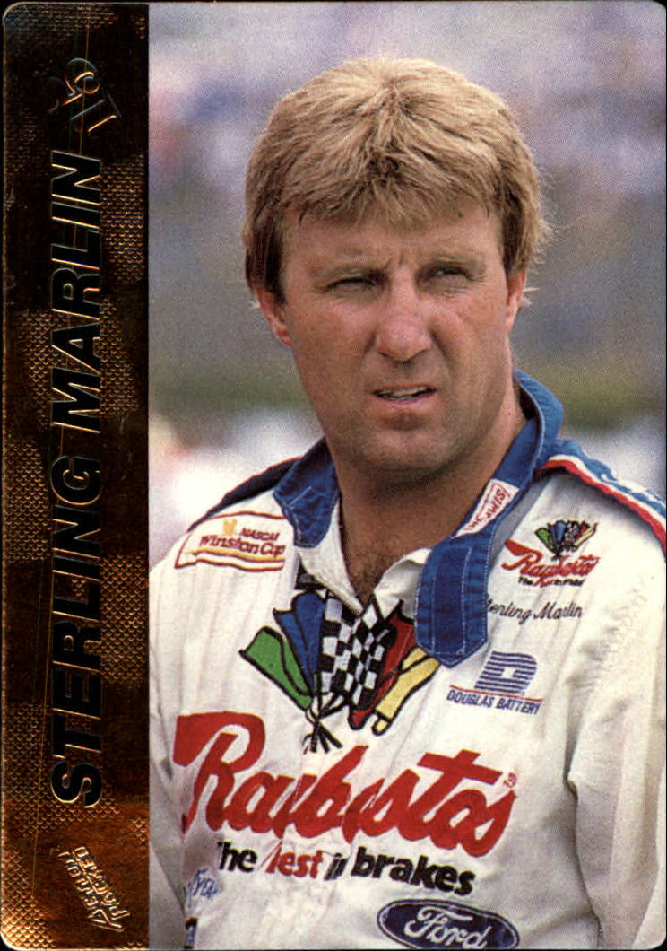 1994 Action Packed #15 Sterling Marlin