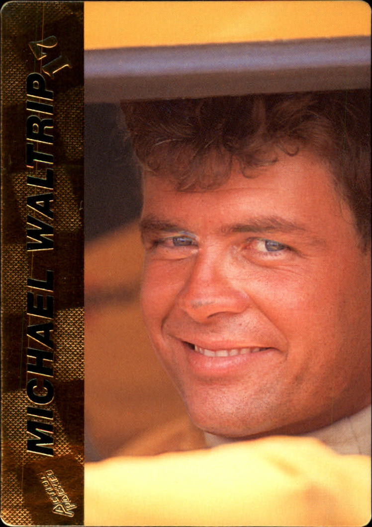 1994 Action Packed #17 Michael Waltrip