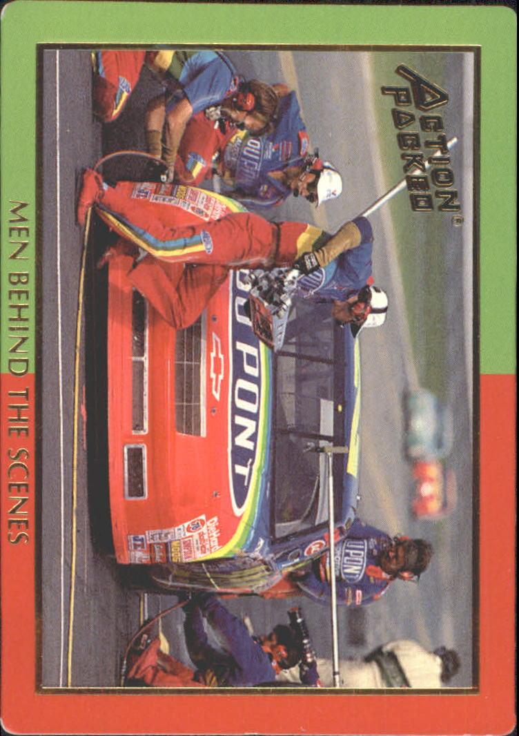 1994 Action Packed Champ and Challenger #7 Jeff Gordon in Pits