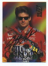 1995 VIP Autographs #11 Jeff Gordon