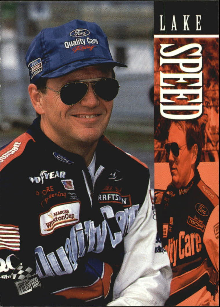 1995 Press Pass #28 Lake Speed