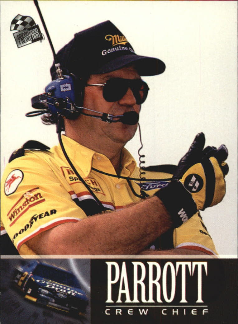 1995 Press Pass #97 Buddy Parrott