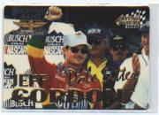 1995 Hi-Tech Brickyard 400 #NNO Jeff Gordon Gold/10,000/tin box insert