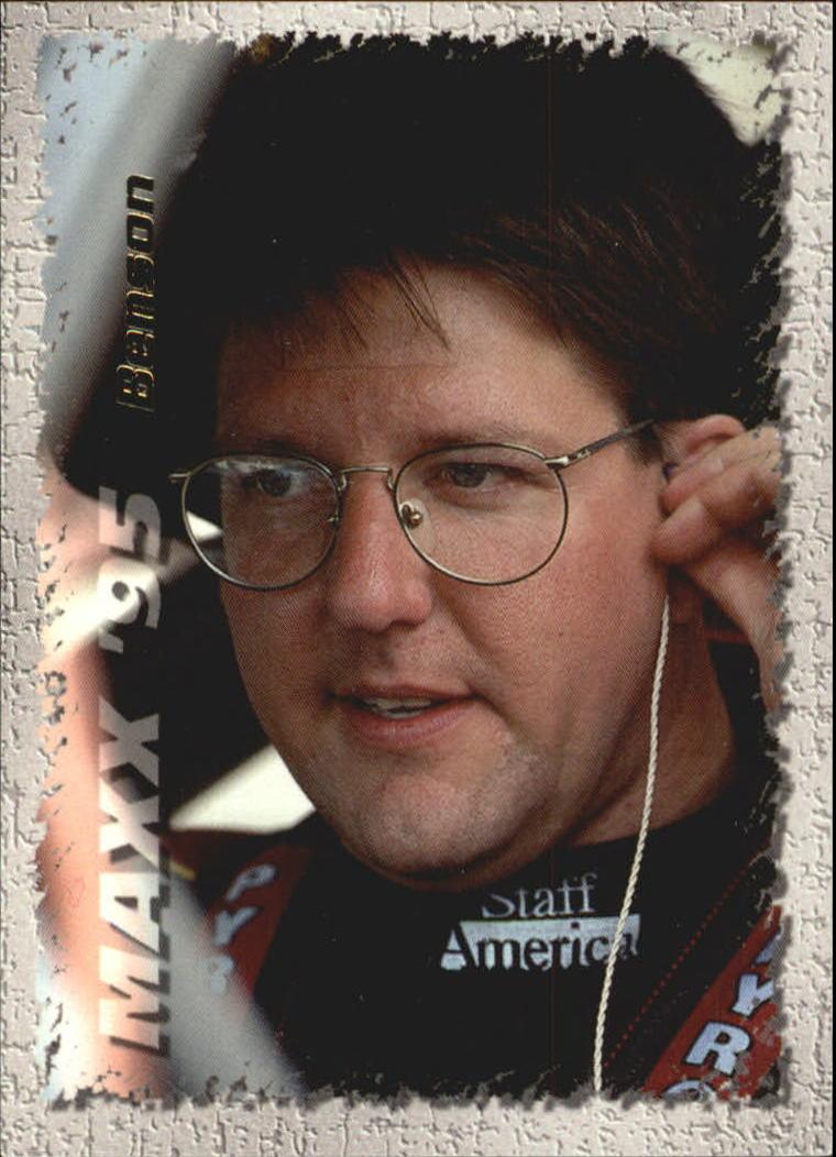 1995 Maxx #155 Johnny Benson