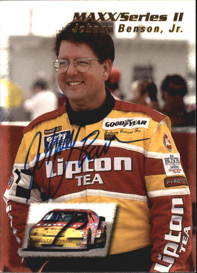 1995 Maxx #201 Johnny Benson, Jr.