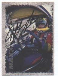 1995 Maxx Autographs #24 Jeff Gordon