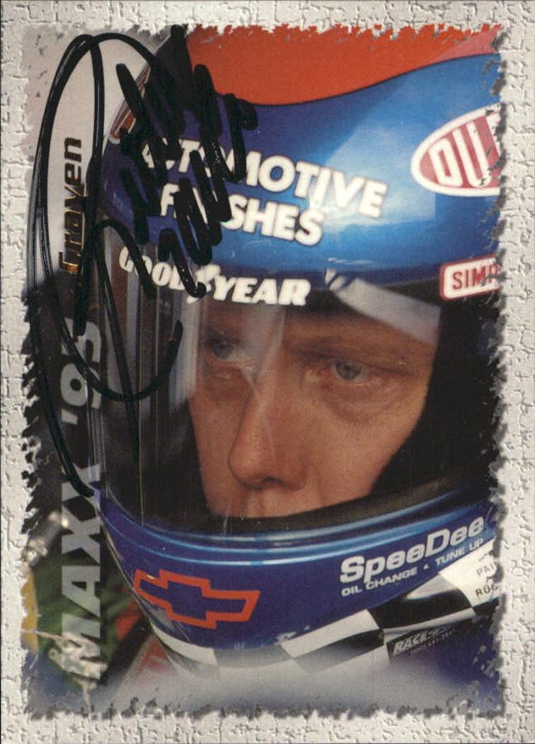 1995 Maxx Autographs #151 Ricky Craven