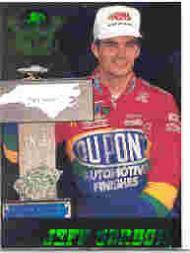 1995 Crown Jewels Emerald #75 Jeff Gordon RW