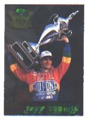 1995 Crown Jewels Emerald #77 Jeff Gordon RW