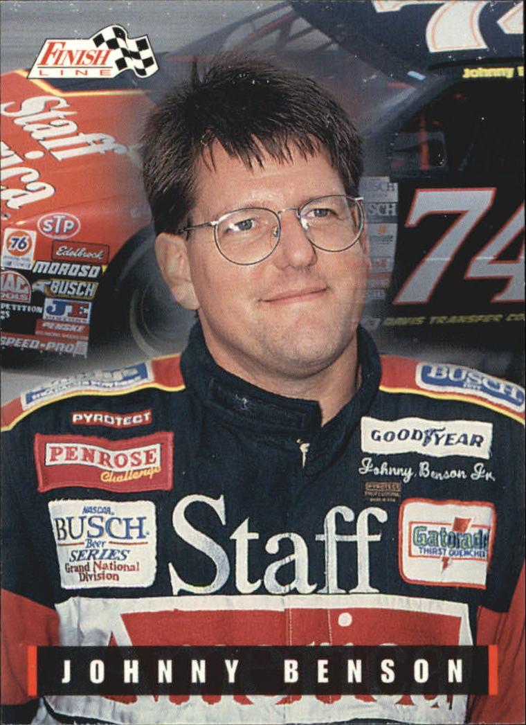 1995 Finish Line #46 Johnny Benson