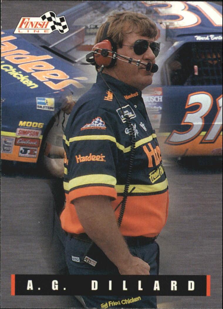 1995 Finish Line #107 A.G. Dillard
