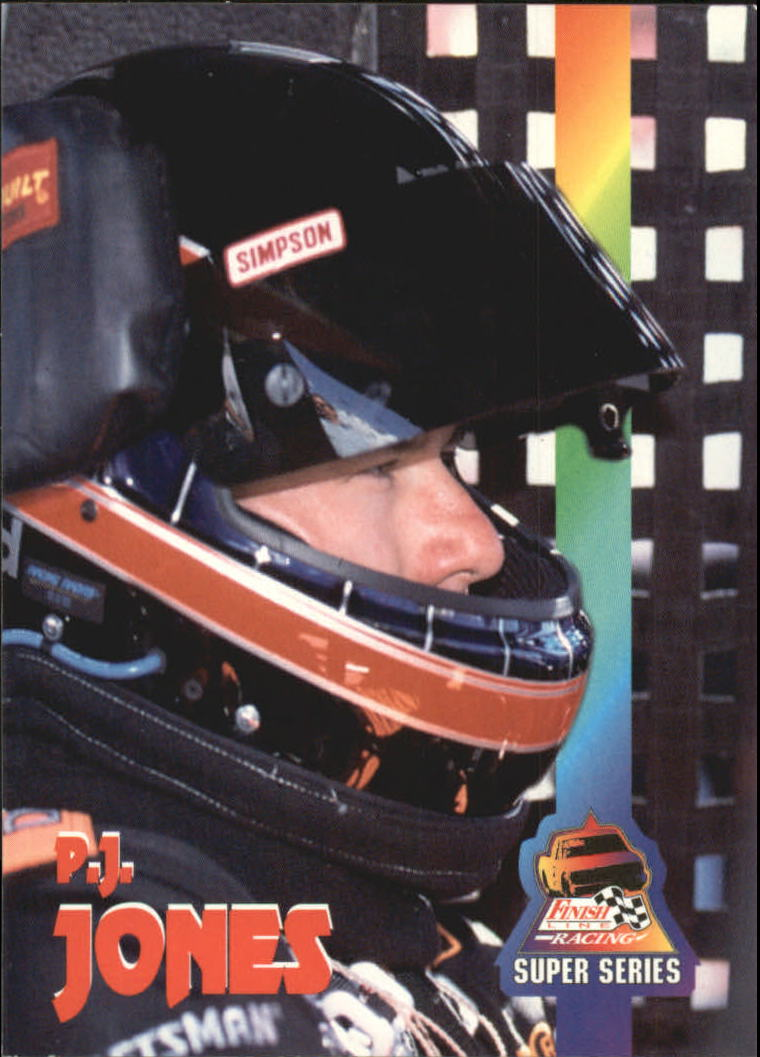 1995 Finish Line SuperTrucks #38 P.J. Jones