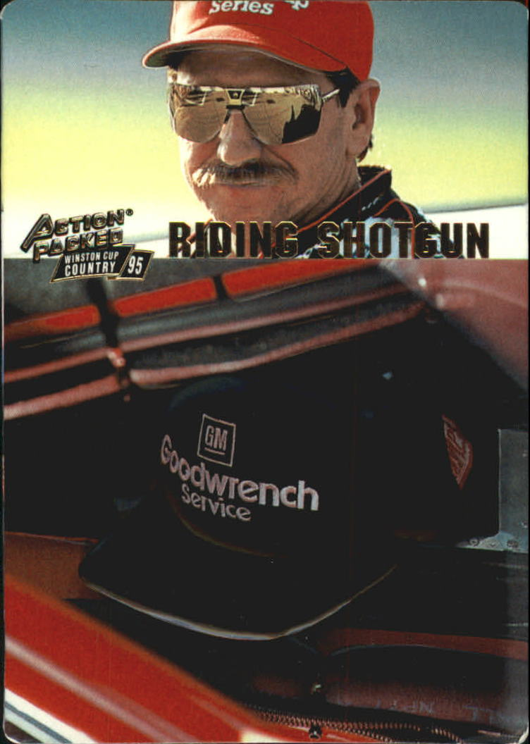 1995 Action Packed Country #5 Dale Earnhardt RS