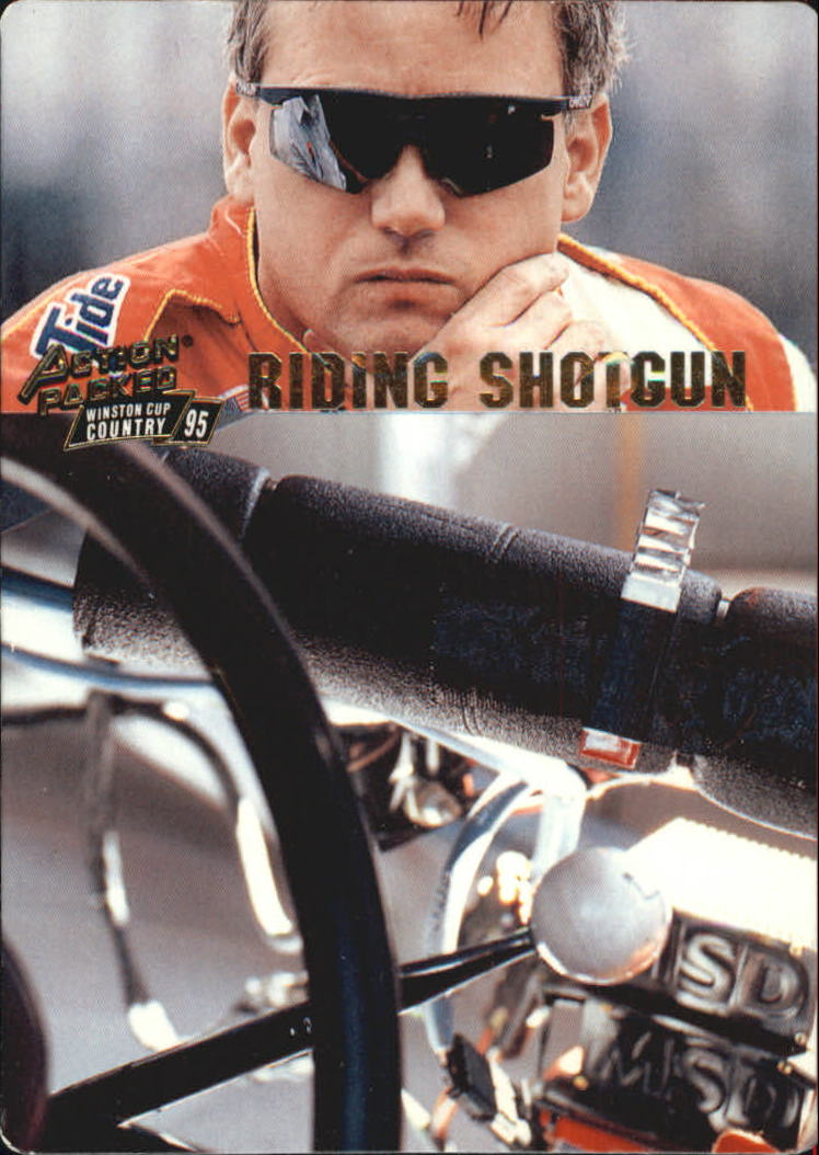 1995 Action Packed Country #7 Ricky Rudd RS