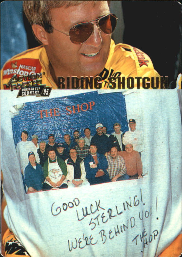 1995 Action Packed Country #10 Sterling Marlin RS
