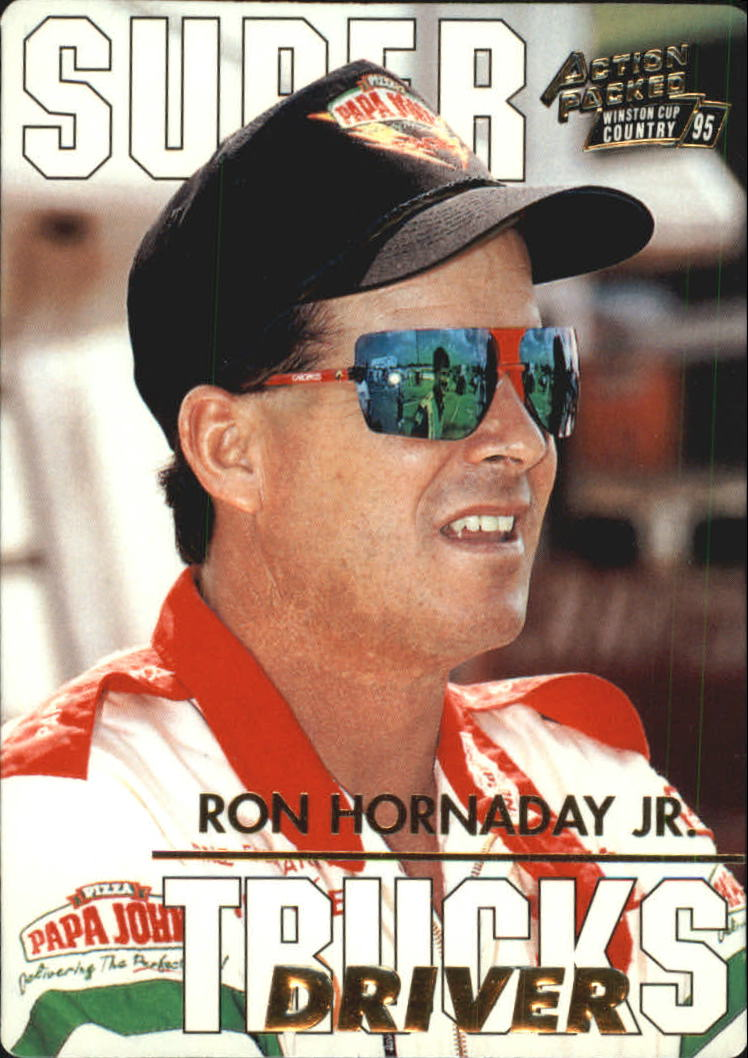1995 Action Packed Country #86 Ron Hornaday Jr. STD RC
