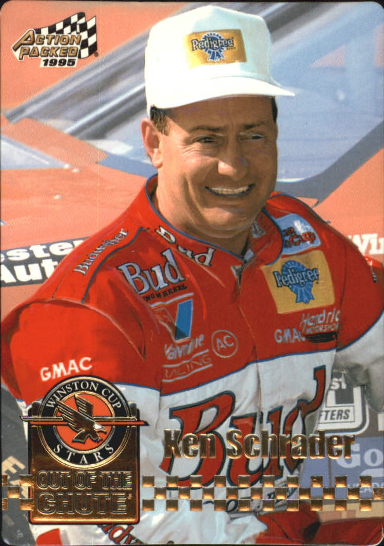 1995 Action Packed Stars #14 Ken Schrader OC