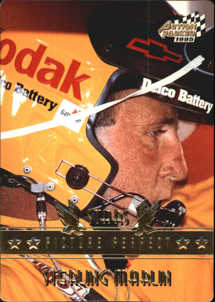 1995 Action Packed Stars #55 Sterling Marlin OC