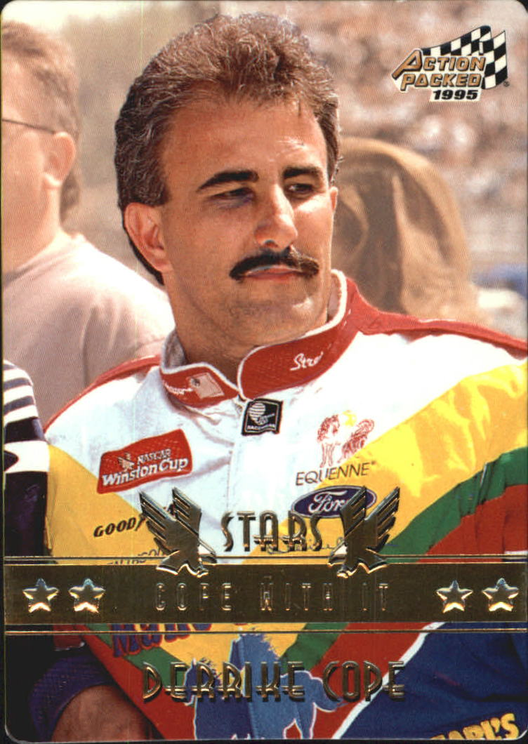 1995 Action Packed Stars #67 Derrike Cope CWI