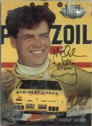 1996 Ultra Autographs #37 Michael Waltrip