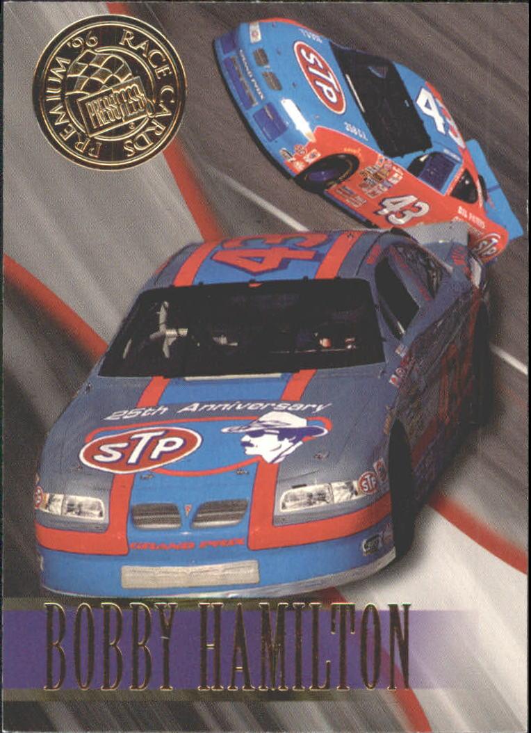 1996 Press Pass Premium #42 Bobby Hamilton's Car