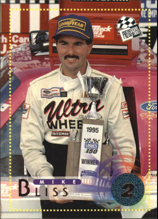 1996 Press Pass #64 Mike Bliss RC