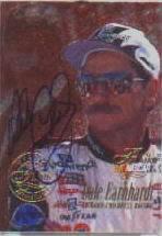 1996 Flair Autographs #2 Dale Earnhardt
