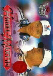 1996 Crown Jewels Elite Sapphire Treasure Chest #53 S.Hmiel/M.Martin