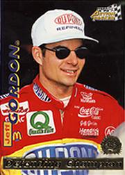 1996 Action Packed Credentials #1 Jeff Gordon DC