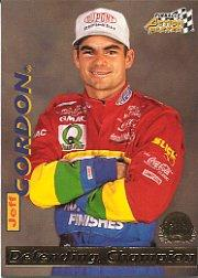 1996 Action Packed Credentials #2 Jeff Gordon DC