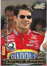 1996 Action Packed Credentials #5 Jeff Gordon DC
