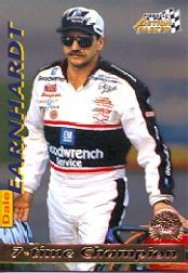 1996 Action Packed Credentials #6 Dale Earnhardt STC