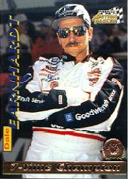 1996 Action Packed Credentials #7 Dale Earnhardt STC