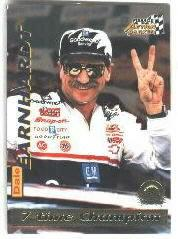 1996 Action Packed Credentials #10 Dale Earnhardt STC