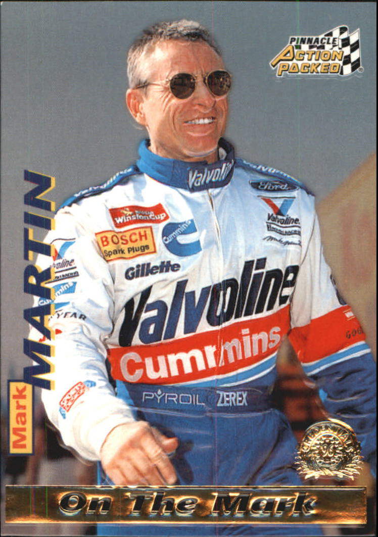 1996 Action Packed Credentials #14 Mark Martin OTM