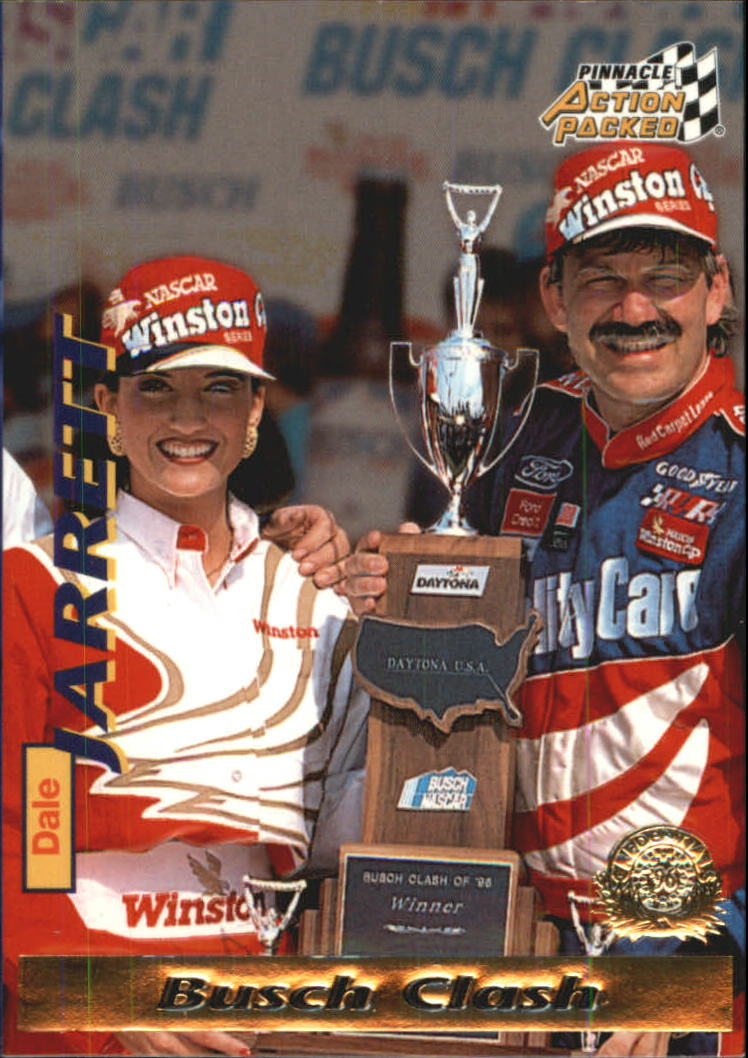 1996 Action Packed Credentials #16 Dale Jarrett DW