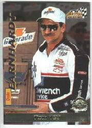 1996 Action Packed Credentials #17 Dale Earnhardt DW