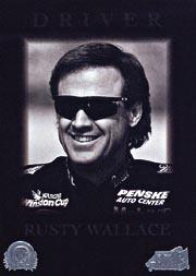 1996 Action Packed Credentials #24 Rusty Wallace