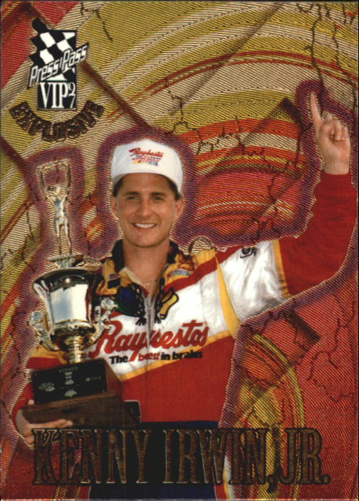 1997 VIP #41 Kenny Irwin RC