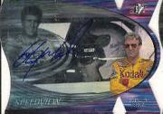 1997 SPx SpeedView Autographs #SV4 Sterling Marlin